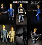 Real Ghostbusters Egon Spengler Figure