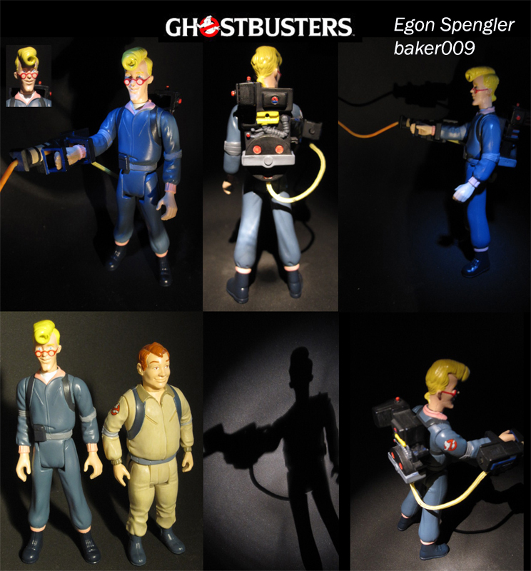Real Ghostbusters Egon Spengler Figure by Baker009