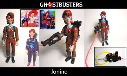 RGB Janine Ghostbusters Custom by Baker009