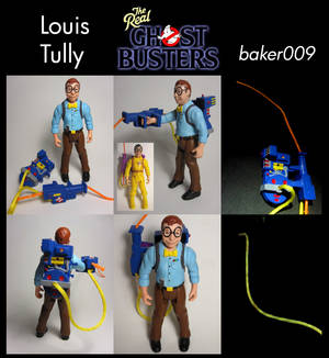 Real Ghostbusters Louis Tully Custom Figure
