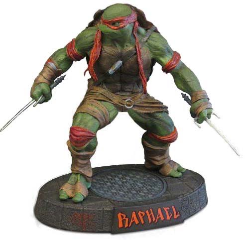 2014 Ninja Turtles Classic Raphael Mod Statue by Baker009