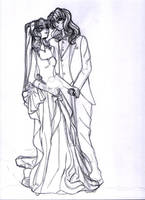 LoaA: WIP wedding 01 by Sea9040
