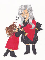 LoaA SD Rosiel and little Shao by Sea9040