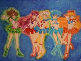SM: Inner Sailor Senshi by Sea9040