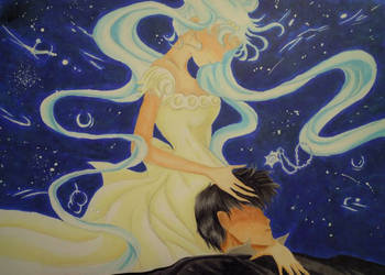 SM: Princess Serenity + Prince Endymion by Sea9040