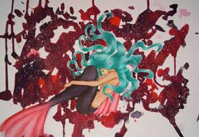 ORIGINAL: Mermaid for Deep Red Movie Shop
