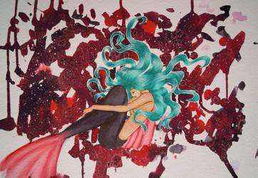 ORIGINAL: Mermaid for Deep Red Movie Shop by Sea9040