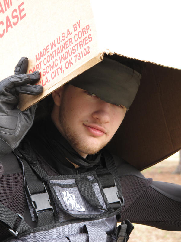 Cosplay: Solid Snake by SonicRTR