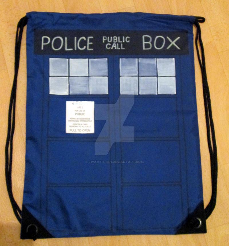 Backpack: TARDIS (Doctor Who)