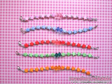 Bracelets: *Anime Star* (Sailor Moon)
