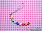 Cellphone Charm: *Rainbow Stars* (Cheerful Line)