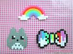 Kawaii Hama: Totoro, Rainbow, Paint Bow