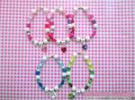Valentine's Day Swarovski-Heart Bracelet