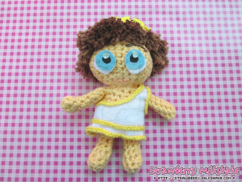 *SMITE Cupid* Amigurumi Plushie / Crochet Doll by FiyahKitteh
