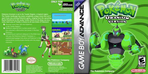 Pokemon Uranium GBA Boxart by GenkoSakamura