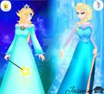 Who Would Win:Elsa vs Rosalina