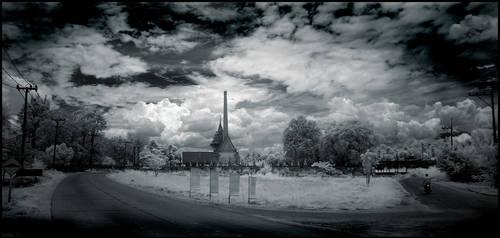 Thai Graveyard infrared...