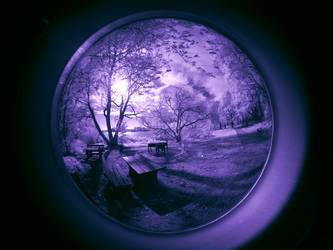 Fisheye Lens infrared... by MichiLauke