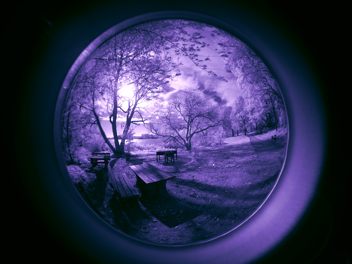 Fisheye Lens infrared...