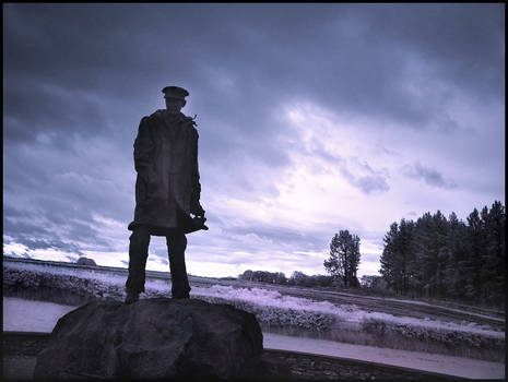 Colonel Sir David Stirling...