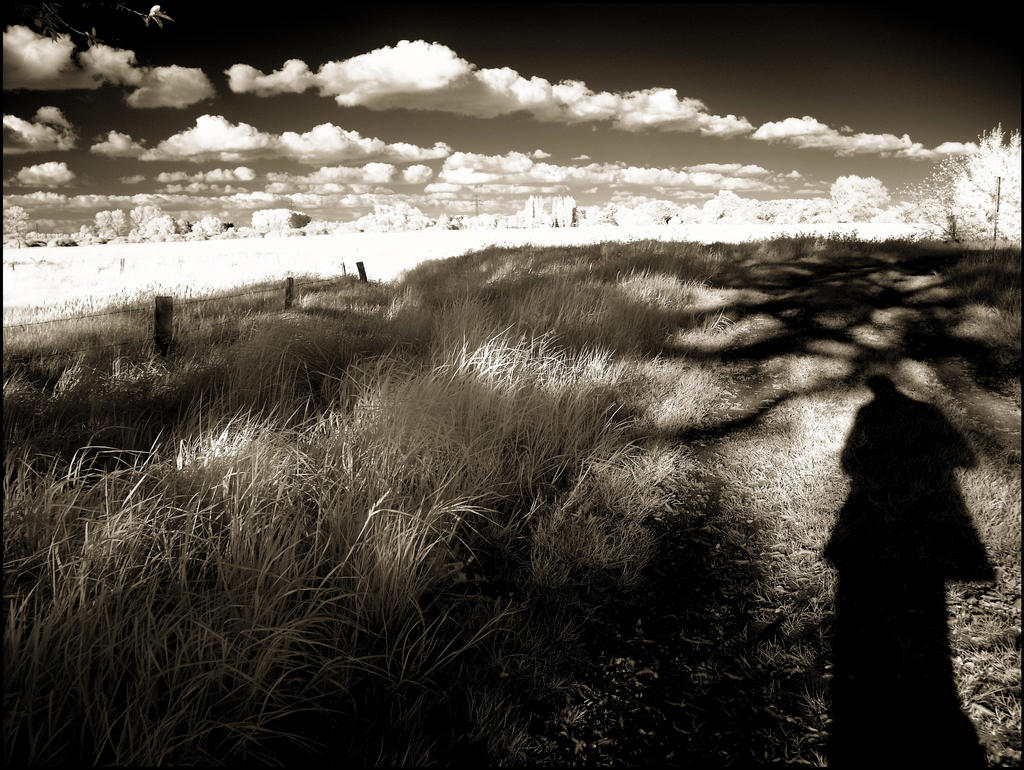 Clouds and Shadows infrared... by MichiLauke