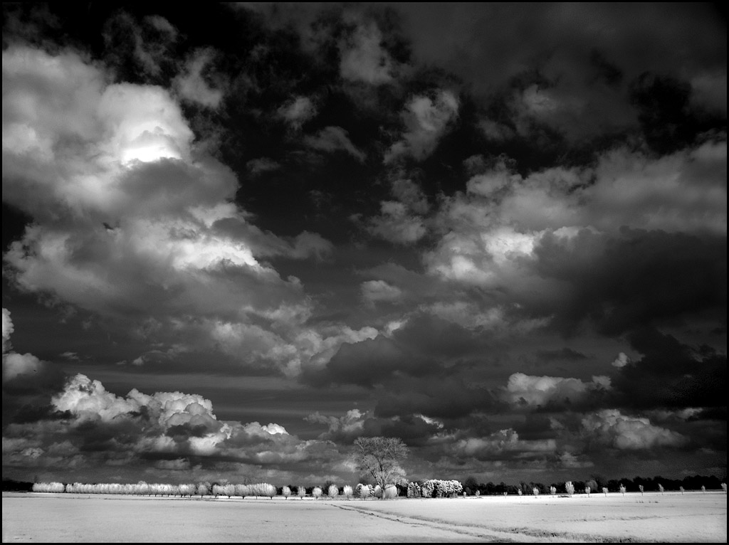 April Clouds infrared... by MichiLauke