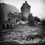The Castle II b+w...
