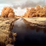 River Pinnau infrared