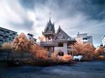 Thai Tempel infrared