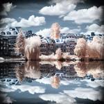 Lake View Berlin Havel infrared