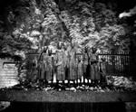 Jewish Cemetery Memorial Berlin infrared by MichiLauke