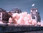Reichstag Berlin infrared