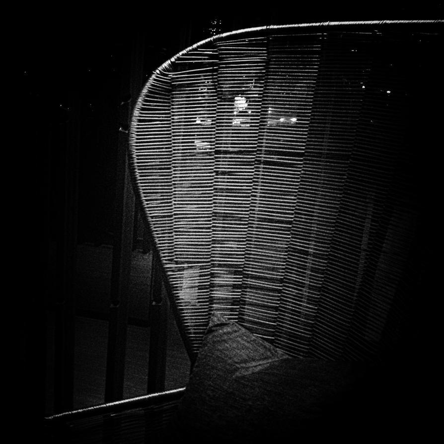 rattan chair b + w by MichiLauke