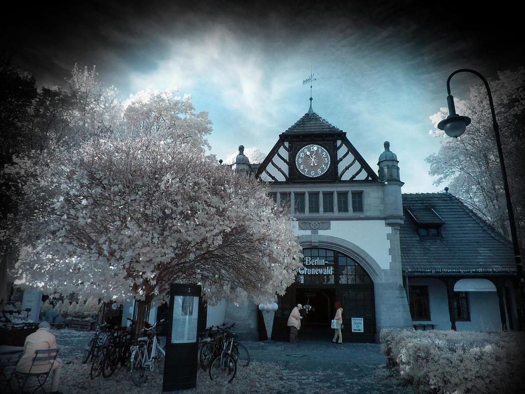Berlin Grunewald infrared by MichiLauke