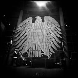 Berliner Bundestagsadler 'Fette Henne' II