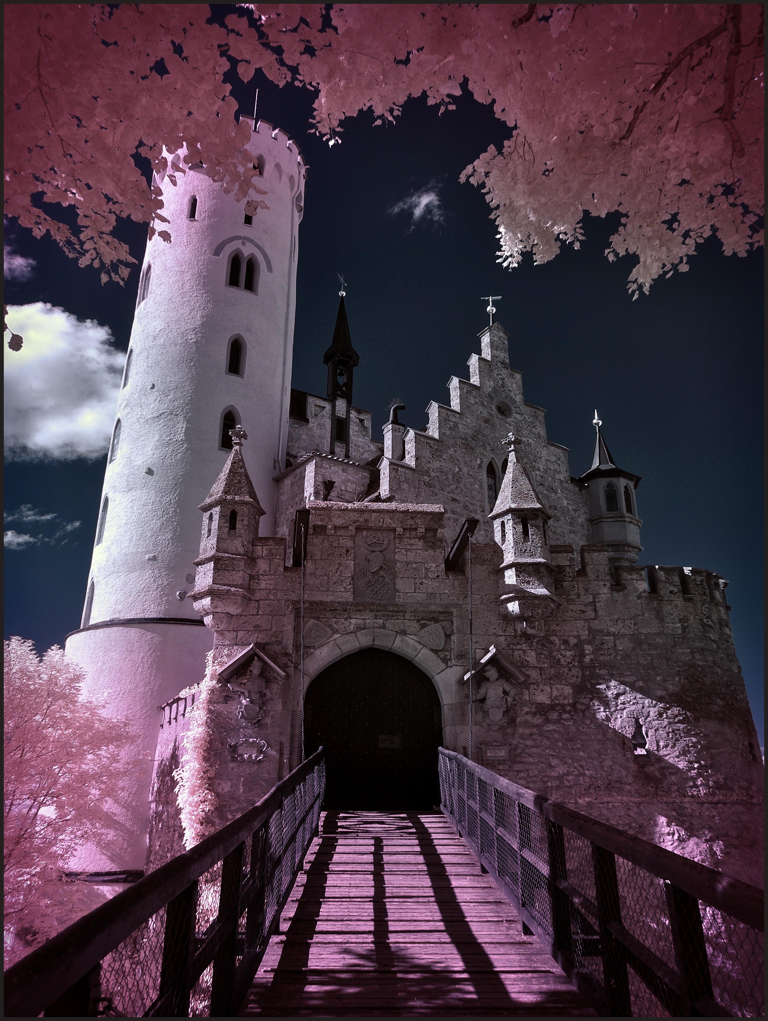 Drawbridge Castle Lichtenstein
