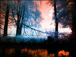 Sky in Flames infrared by MichiLauke