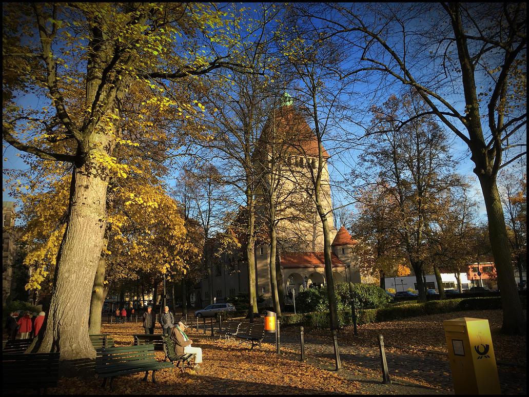 Dorfkirche Tegel Berlin by MichiLauke