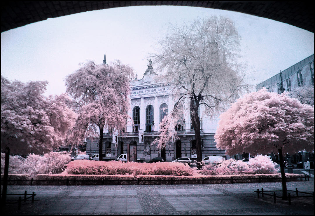 Theater des Westens Berlin infrared by MichiLauke