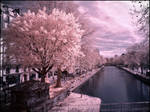 Paris - Canal Saint Martin infrared