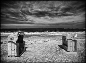 Lonely Beach infrared