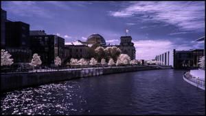 Reichstag Spreebogen Berlin