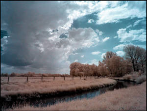 Thunderstorm is coming up - Infrared