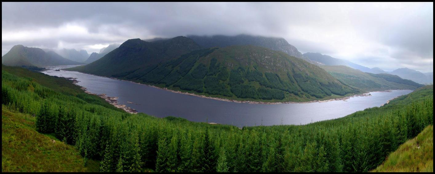 Scotland - Loch Loyne XXL by MichiLauke