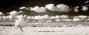 Clouds infrared...