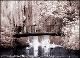 Idyllic Bridge infrared... by MichiLauke