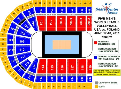 Sears Centre Arena   seat map by dxdy on DeviantArt
