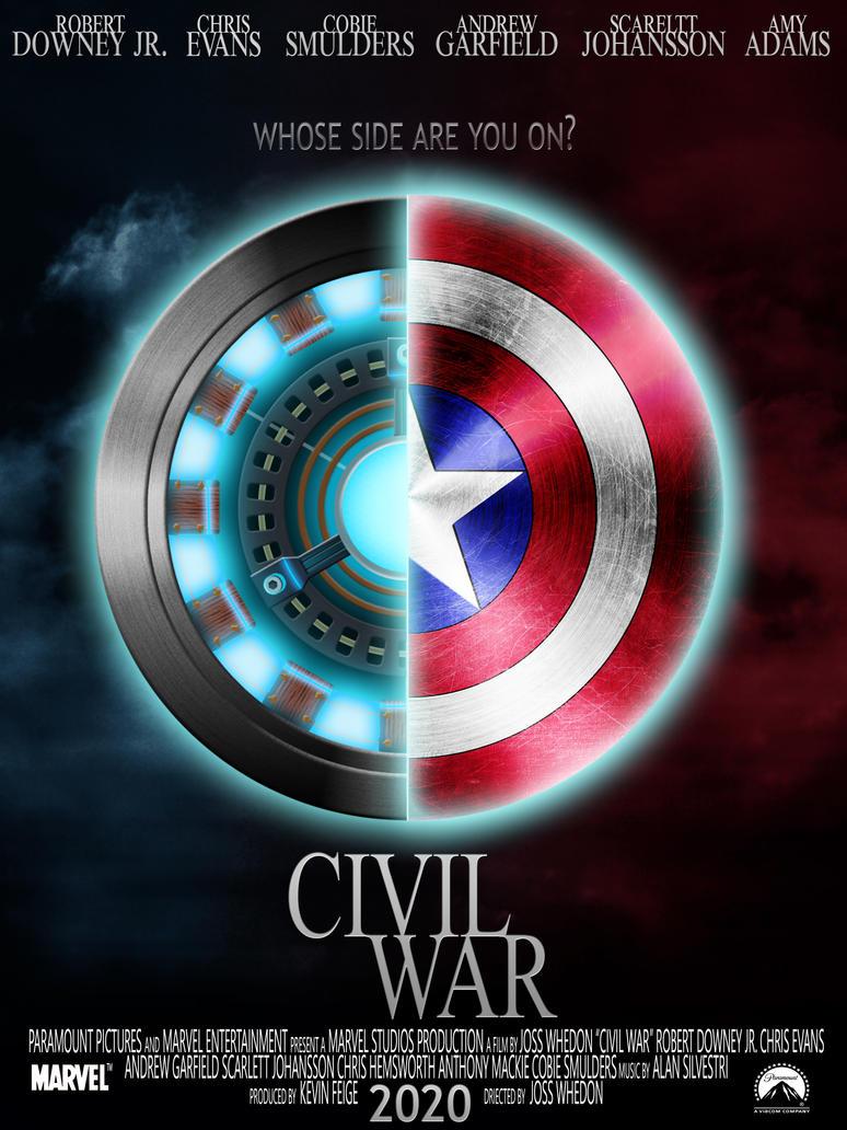 Marvel Civil War By Misanthropehalf