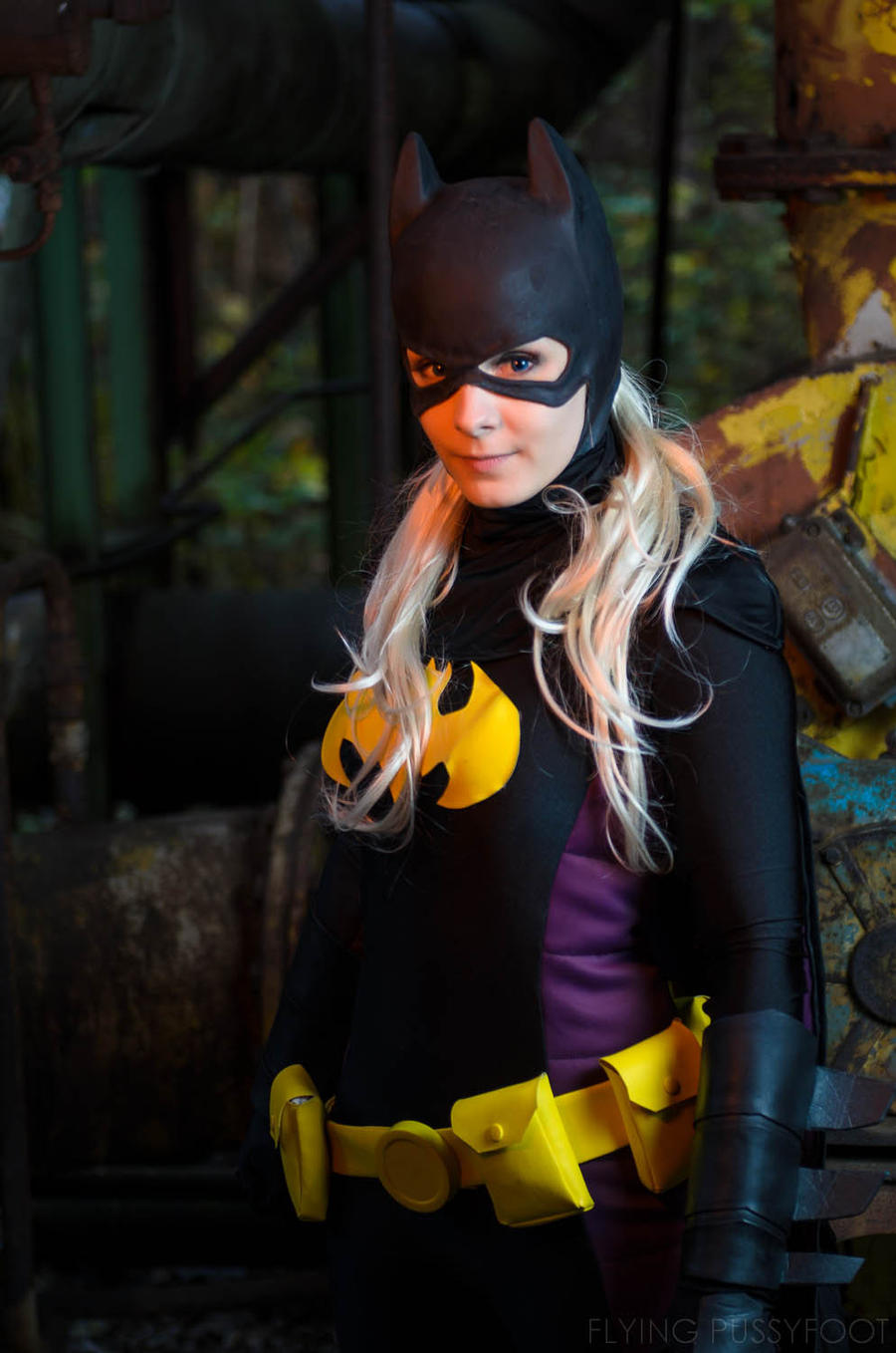 Time for some action! [Batgirl IV:Stephanie Brown] by vandrob59