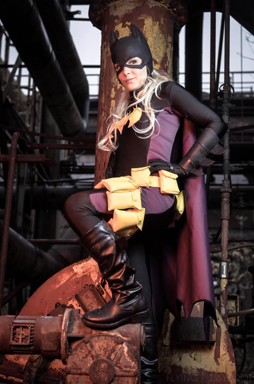 On the Run [Batgirl IV:Stephanie Brown] by vandrob59